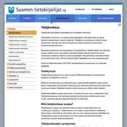 Tekijänoikeus - Suomen tietokirjailijat ry
