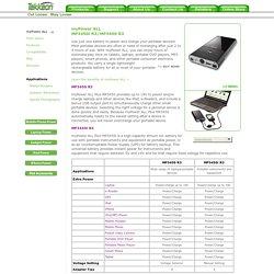 myPower ALL, MP3300/MP3400/MP3450