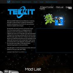 Tekkit - Technic Platform