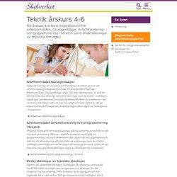 Teknik - årskurs 4-6: Arbetsområde Glasögonbågar - undervisningsstöd