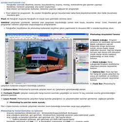 Adobe Photoshop Kursu Ders Notları