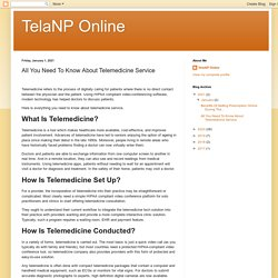 TelaNP Online: All You Need To Know About Telemedicine Service