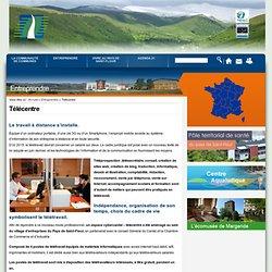 Télécentre | Communauté de Communes du Pays de Saint-Flour