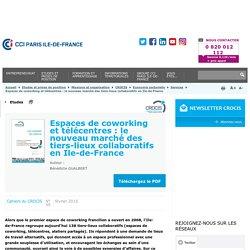 Espaces de coworking et télécentres : le nouveau marché des tiers-lieux collaboratifs en Ile-de-France