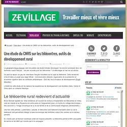Une étude du CNRS sur les télécentres, outils de développement rural