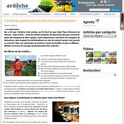 Vers un réseau de télécentres en Ardèche