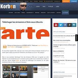 Téléchager les émissions d'Arte sous Ubuntu