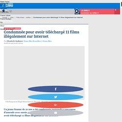 Condamnée pour avoir téléchargé 11 films illégalement sur Internet