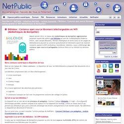 Bibliobox : Contenus open source librement téléchargeables en Wifi (Médiathèques de Montpellier)