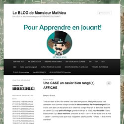 BLOG CE1 monsieur Mathieu NDL cycle2 GS CP CE1