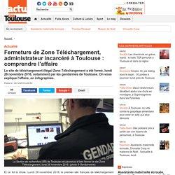 Fermeture de Zone Téléchargement, administrateur incarcéré à Toulouse : comprendre l'affaire
