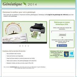 Téléchargement Gratuit de Généatique 2012 - Généatique 2012