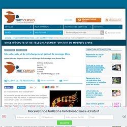 Sites d'écoute et de téléchargement gratuit de musique libre