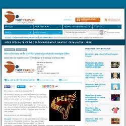 Répertoire Thot de sites d'écoute et de téléchargement gratuit de musique libre