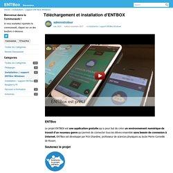 Téléchargement et installation d'ENTBOX
