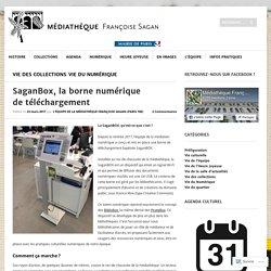 SaganBox, la borne numérique de téléchargement