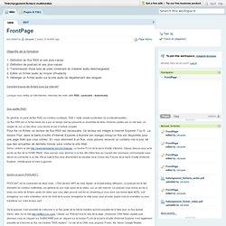 Téléchargement fichiers multimédias / FrontPage