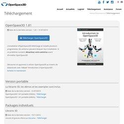 Téléchargement - OpenSpace3D
