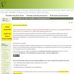 Cours audio de Marc Bonfils en téléchargement