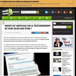 Hadopi est inefficace sur le téléchargement de films selon une étude