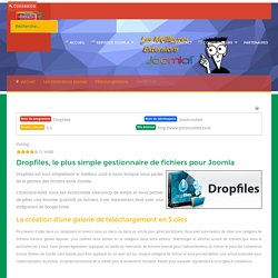 Téléchargements - DROPFILES - strategie-joomla