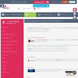 Téléchargements logiciels pour Raspberry PI - KUBII