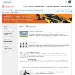 Téléchargements gratuits de logiciels de CAO SOLIDWORKS