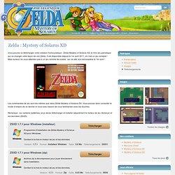 Zelda Solarus : Mystery of Solarus XD - Téléchargement