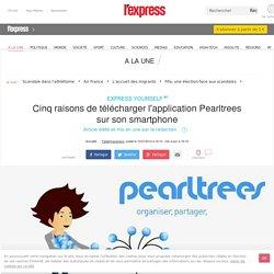 5 raisons de télécharger l'application Pearltrees