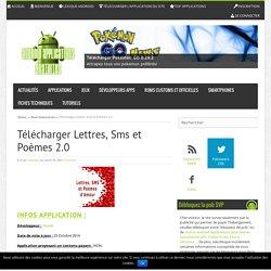 Télécharger Lettres, Sms et Poèmes 2.0 - Android Applications Gratuites