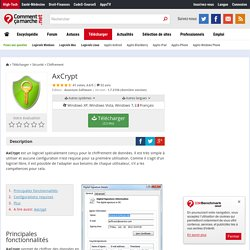 Télécharger AxCrypt (gratuit)