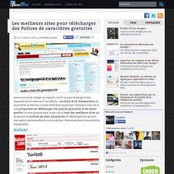 Les meilleurs sites pour télécharger des Polices de caractères gratuites