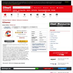 Télécharger CCleaner - 01net.com - Telecharger.com