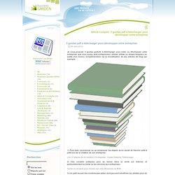 3 guides pdf à télécharger pour développer votre entreprise