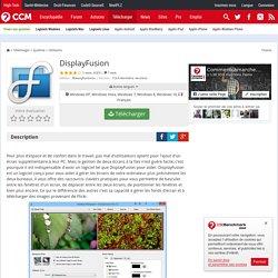 Télécharger DisplayFusion (gratuit)