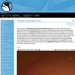 Télécharger une distribution Linux
