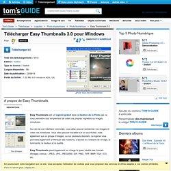 Télécharger Easy Thumbnails 3.0