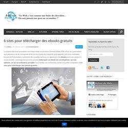 6 sites pour télécharger des ebooks gratuits