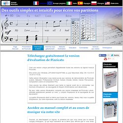 Logiciel musical - Télécharger la version d'évaluation gratuite