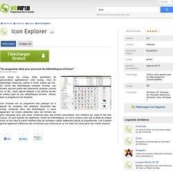 Télécharger Icon Explorer Gratuit