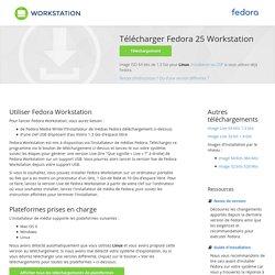 Télécharger Fedora Workstation