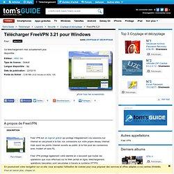 Télécharger FreeVPN 3.21 (Gratuit)