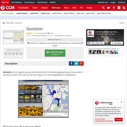 Télécharger GeoSetter (gratuit)