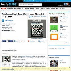 Télécharger Flash Code 4.0.24 (Gratuit) pour iPhone OS