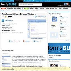 Télécharger CVitae 4.2.2
