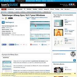 Télécharger Allway Sync 11.4.0 (Gratuit)