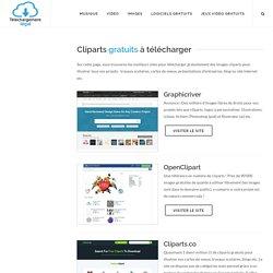 Cliparts gratuits - Collection d'images a télécharger gratuitement