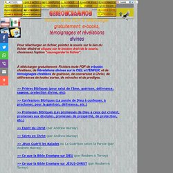 Fichiers texte PDF à télécharger gratuitement: e-books, témoignages, révélations divines sur le ciel et l'enfer