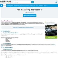 Exemple 2 Mercedes