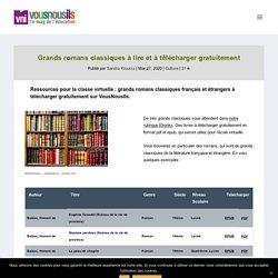 Grands romans classiques à lire et à télécharger gratuitement ...